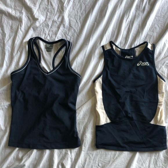 06cad87924d ❤️ Champion & ASICS Lot running fitted tank tops